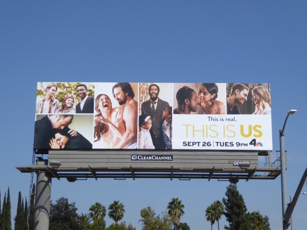 This Is Us season 2 billboard