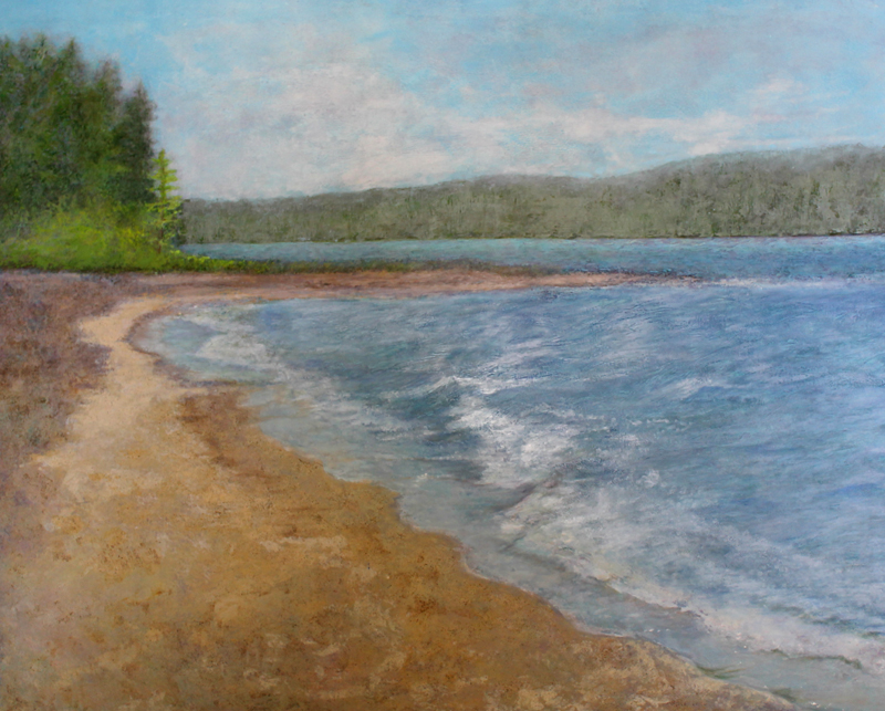 oil paintings for your space sandy beach