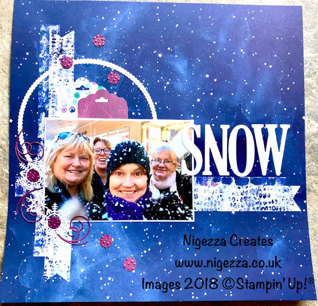 #stampinforall Sketch Challenge Using Stampin' Up!® Products Nigezza Creates