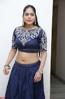 Ruchi Pandey in Blue Embrodiery Choli ghagra at Idem Deyyam music launch ~ Celebrities Exclusive Galleries 036.JPG