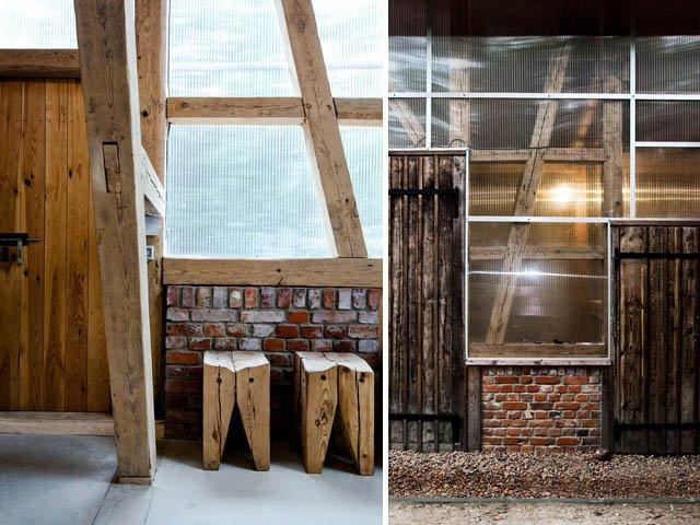 stodoła jako dom gościnny