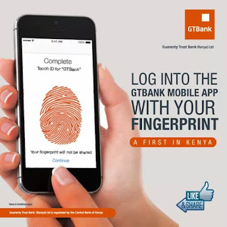 Gtbank fingerprint technology