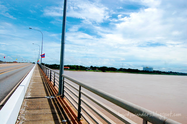bowdywanders.com Singapore Travel Blog Philippines Photo :: Laos:: The Thai-Lao Friendship Bridge, A Friendship Landmark