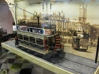 model tram, Brighton Toy and Model Museum