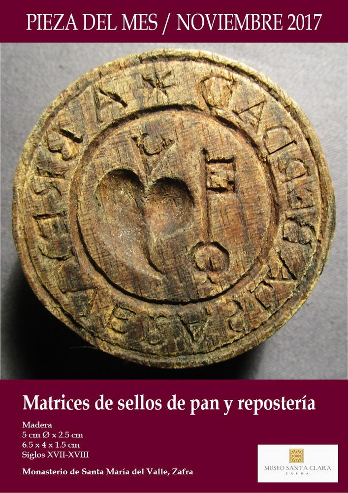 Museo santa clara de zafra pieza del mes noviembre 2017 - Mes noviembre 2017 ...