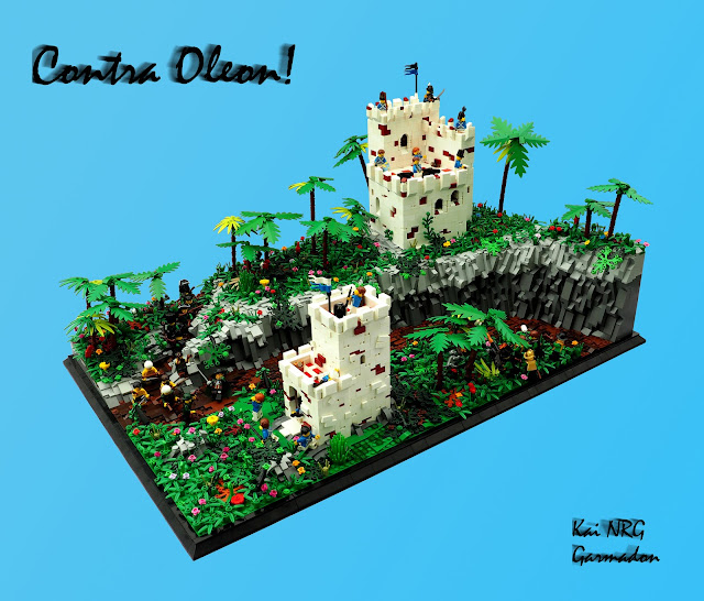 tiles or studs contra oleon by garmadon