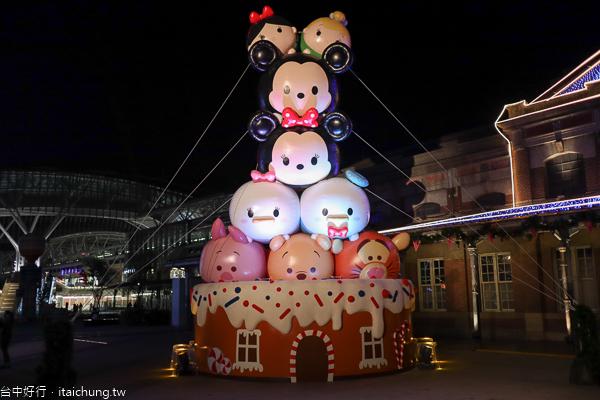 2019台中耶誕夢想世界有迪士尼主題,台中車站、綠川、柳川三大展區