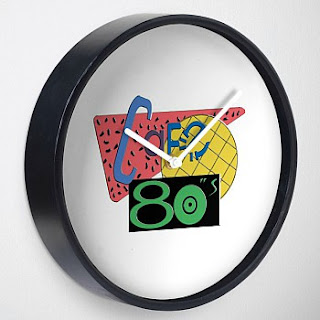 Cafe 80's Wall Clock