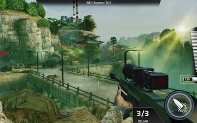 Tampilan Game Kill Shot Bravo