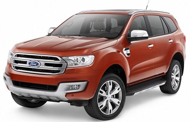 Ford Everest phiên bản 2016 giá từ gần 50 nghìn USD