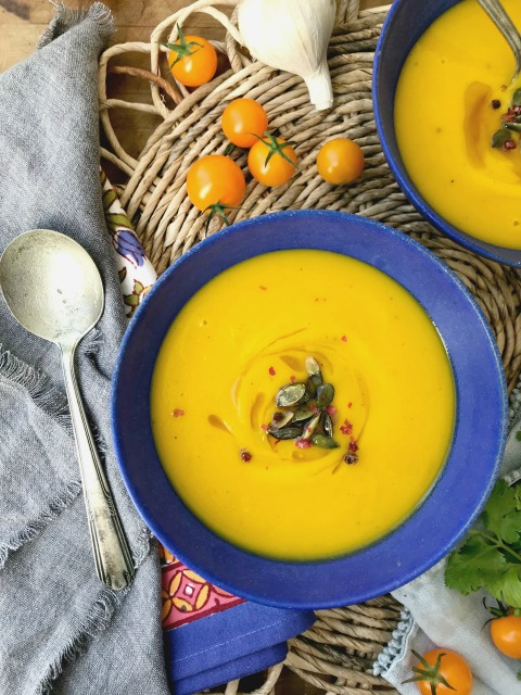 This easy Buttercup Squash soup recipe is a beautiful way to enjoy fresh winter squash. It's quick enough to make on a weeknight and makes a wonderful lunch served with fresh biscuits.