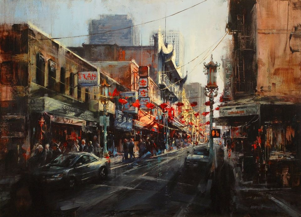 04-Lindsey-Kustusch-Urban-Goings-on-Captured-in-Oil-Paintings-www-designstack-co