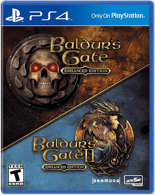 Baldurs Gate Enhanced Edition Game Cover Ps4