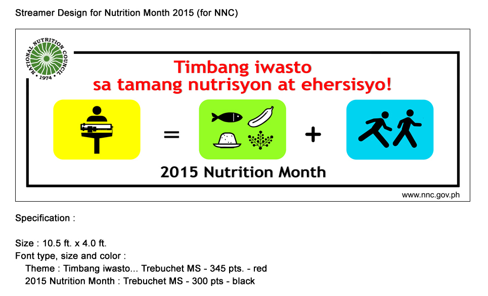 Essay Writing For Nutrition Month 2014