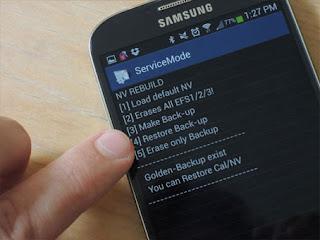 Daftar Kode Samsung Terbaru