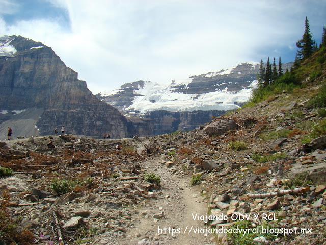 Que hacer, a donde ir, que visitar en Lake Louise. Plain of six glaciers, Grandes Lagos de Canada