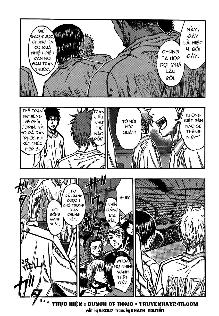 Kuroko No Basket chap 195 trang 1