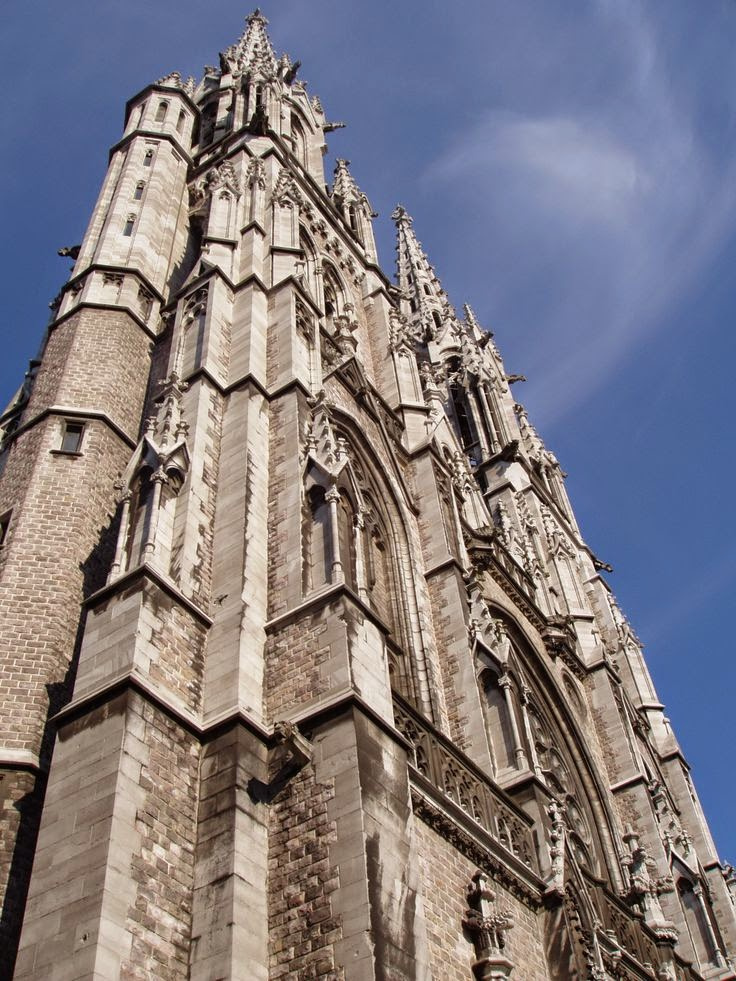 10 Best Places to Holiday in Belgium (100+ Photos) | Gothic Church in Oostende, Belgium
