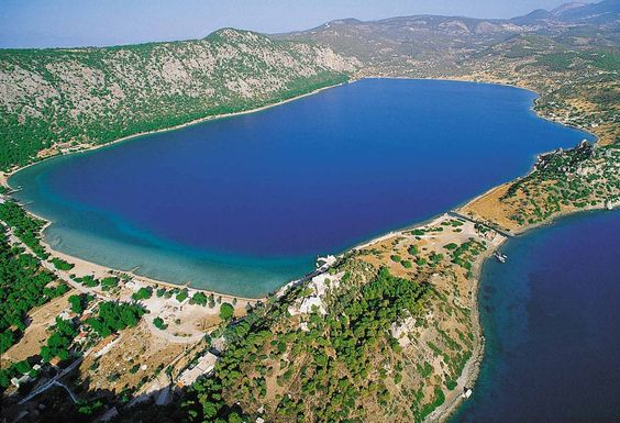 Lake Vouliagmeni Heraion Loutraki