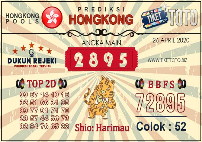 Prediksi Togel HONGKONG TIKETTOTO 26 APRIL 2020