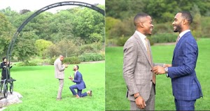 Viral Video of Gay man Who proposed to his boyfriend of 6 years
