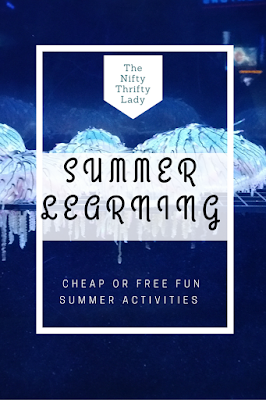 Free and Cheap Summer learning activities for kids 2-10
