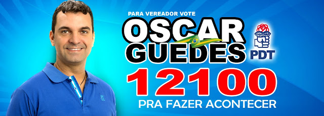 Candidato Oscar Guedes lança site oficial