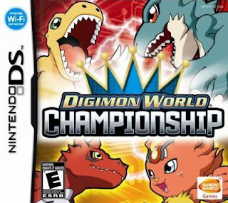 Digimon World Championship, nds, mega