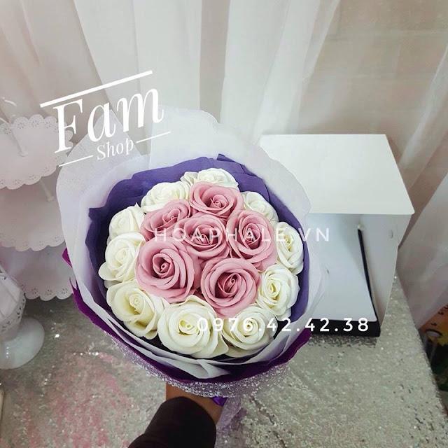Hoa hong sap thom vinh cuu tai Khuc Hao