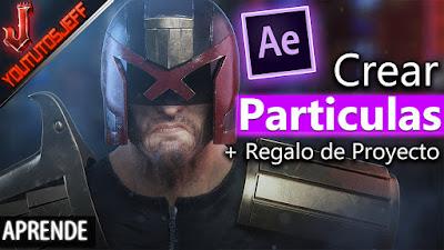 Crear partículas, animar partículas