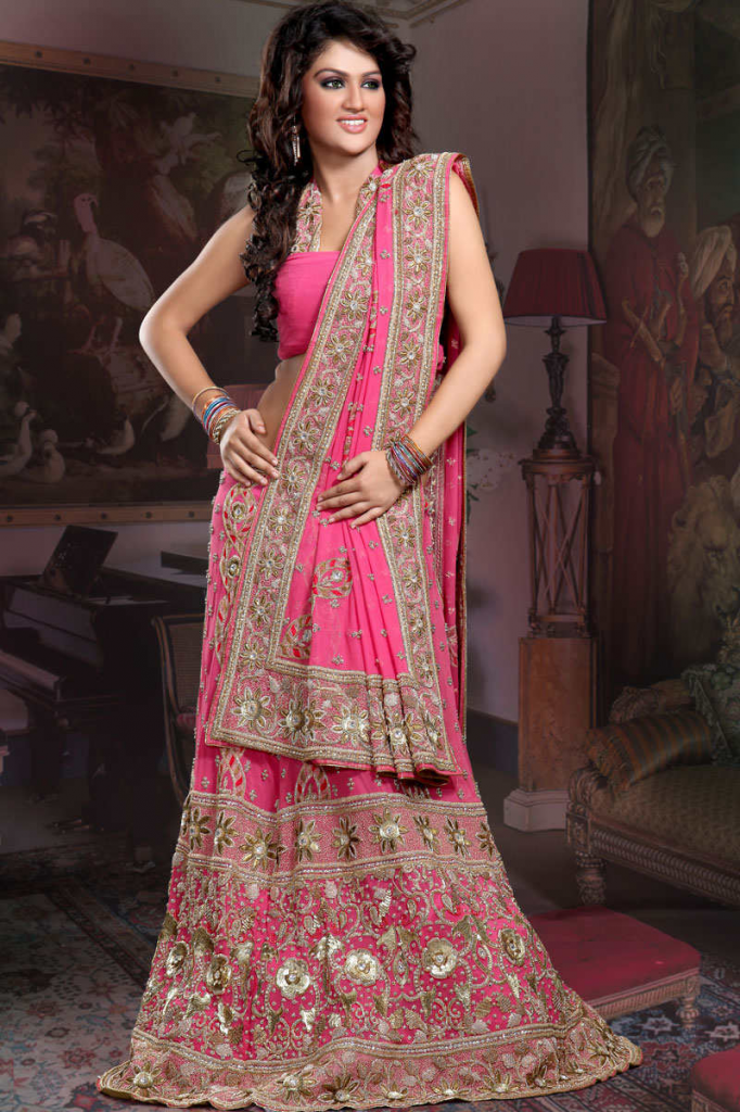 Beautiful Indian Brides Dresses New Designs Images 2014