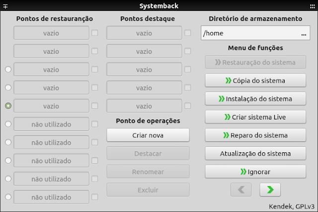 Systemback, como instalar no Ubuntu, Debian, Fedora, ArchLinux, Mageia e outros!