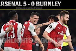 Cuplikan Gol Arsenal vs Burnley 6 Mei 2018