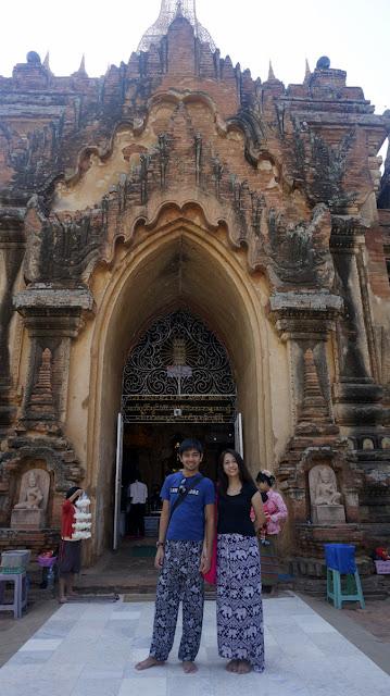 Exploring Bagan Myanmar