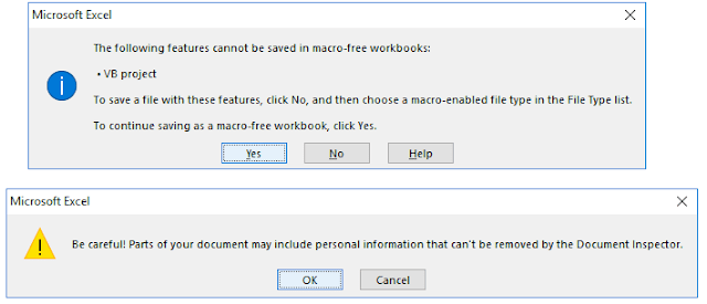saving visual basic macros in excel