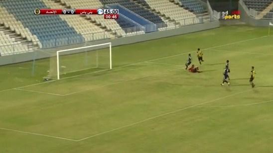 اهداف مباراة الاتحاد وبني ياس مباراة ودية 2-0 09-09-2017