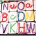 Letras de plastIlina - Plantilla Imprimible Gratis