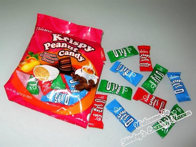 daiana chocolates krispy peanut candy