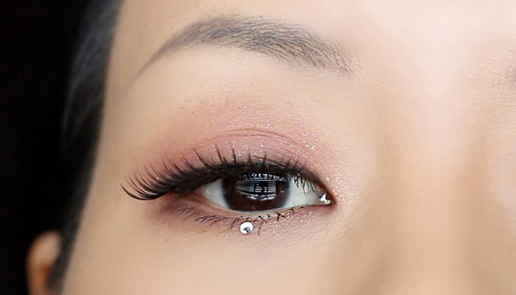 Swarovski Crystal Bling Holiday Makeup Tutorial   HAEKUNAMATATA