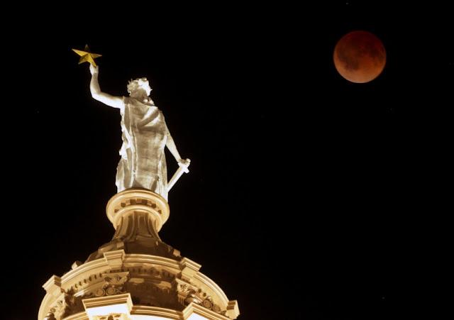 Lua de sangue é um evento já presenciado por muitos