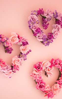 walentynki ozdoby diy twobrokesisters sztuczne kwiaty