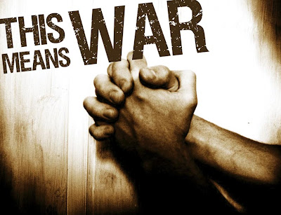 Most of how we fight the enemy is on our knees and getting others to join us on their knees