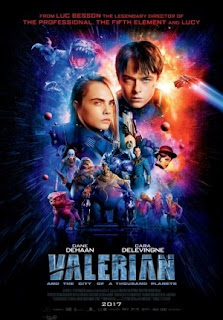 Film Valerian And The City Of A Thousand Planets 2017 di Bioskop