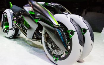 Wallpaper: Kawasaki Electric J Concept