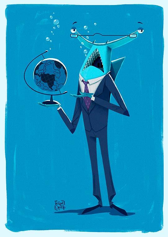 Ilustración de Felipe Camêlo