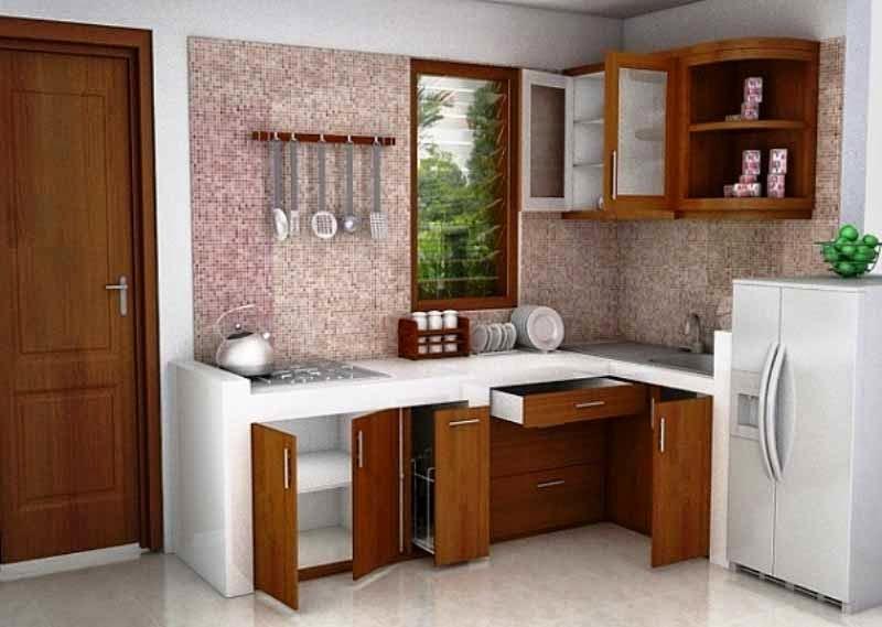 10 Gambar Desain Ruang Dapur Minimalis Sederhana  Griya
