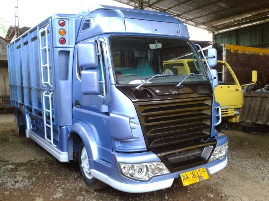 gambar truk hino modif