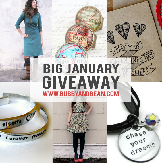 Big January GIVEAWAY // Win A Prize Package of Goodies Worth $250!