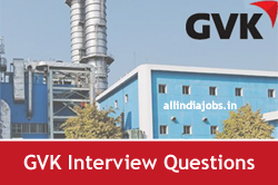 GVK Interview Questions