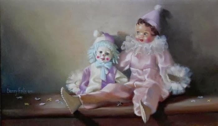 Американская художница. Berry Fritz
